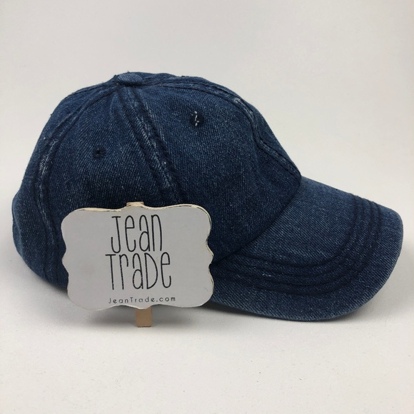 Jean Trade Accessories - NWT Curved Denim Baseball Hat